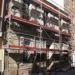 Rehabilitación fachada refurbishment façade Elche Alicante Costa Blanca